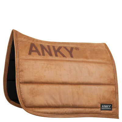 ANKY Cognac Powder Print Dressage Saddle Pad