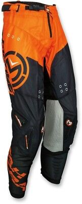 Moose Racing S18 Sahara Pants Size 34 Black/Orange 34 2018 Offroad 2901-6611
