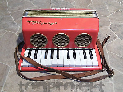 PROJECT vintage MUSIKUS STUDIO Children's Akkordeon DDR Hobbyists Spare parts