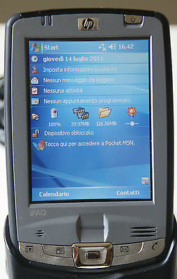 Palmare HP iPAQ hx2790b hx2790  serie HX2700 Pocket PDA PC Wifi BT CF
