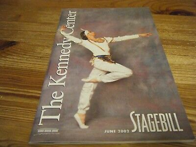 2002  Theatre  Programme - Sunday In The Park With George- The Kennedy Center
