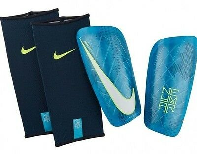 New  Nike Mercurial Lite Neymar Jr Football Hard Shell Shinguards Shin Pads