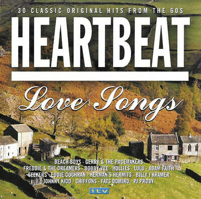 Various Artists / Heartbeat: Love Songs (Original Hits From the 60s) *NEW* CD