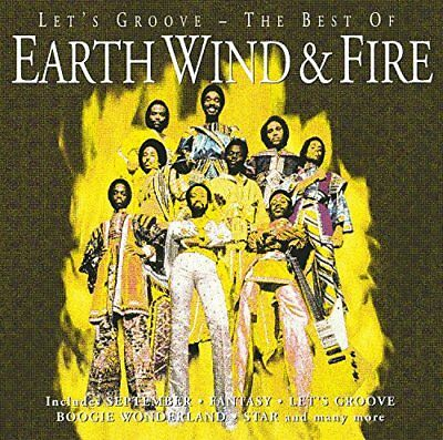 Earth Wind & Fire / Lets Groove / The Best Of (Greatest Hits) *NEW* CD