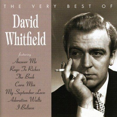 David Whitfield / Very Best Of (Greatest Hits) *NEW* CD