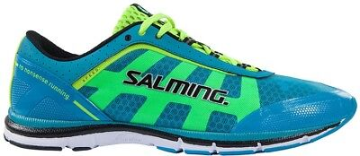 Salming Speed Mens Running Shoes Blue Natural Minimalist Run Trainers UK 10-11.5