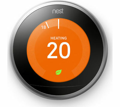 Nest Learning Thermostat 3rd Generation (Various Colours)