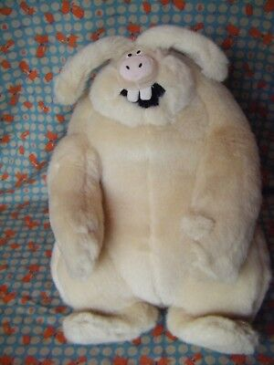 "Wallace and Gromit The Curse of the Were-rabbit Soft Plush Toy Film 13""  approx"