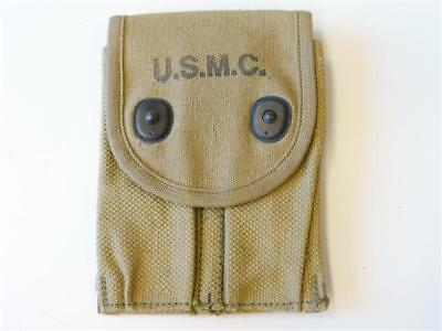 U.S.  WWI, M1911 pistol Magazine pouch dated 1918, USMC