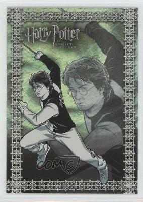 2006 Artbox Harry Potter and the Goblet of Fire Update Foil Puzzle #R7 Card 0a1