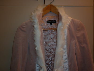 Bettina Liano Size 10 Eccentric Pink Winter  Jacket Excellent Condition