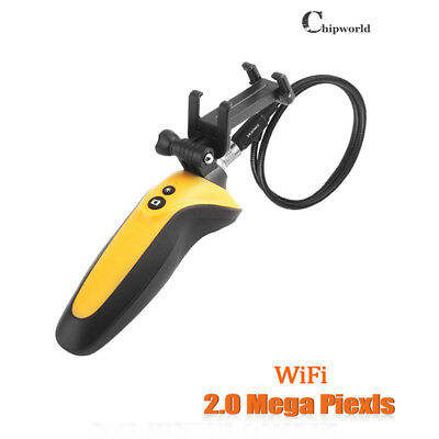 8.5mm HD 720P Wifi Video Borescope Endoscope Inspection Snake 2.0 MP 1M 2.4GHz