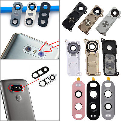 Rear Back Camera Lens Frame Cover Protector + Adhesive For LG V20 G6 G5 G4 G3