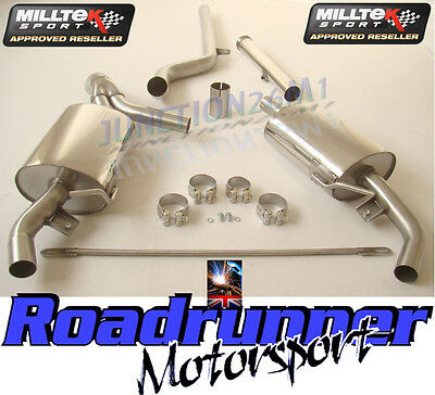 Milltek Clio 200 RS 2.0 Inc Cup Exhaust Decat & Cat Back System Non Resonated
