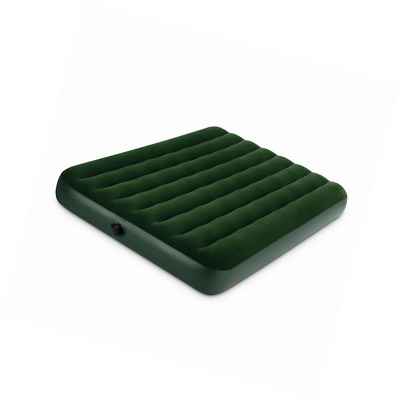 Air Mattress Full Size With Hand Held Battery Pump Self Inflatable Outdoor