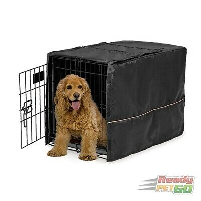 Midwest LifeStages Dog Crate Cover- Transform Kennel Into Pet Den, Washable