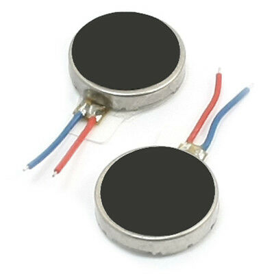 2Pcs 10mm x 2.5mm Disc Shape Vibrating Vibration Motor for Cell Pho W6O5