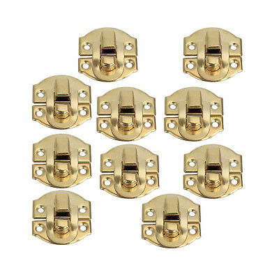 Yellow Mini tension lock Buckle Snap Closure for Cabinet Draw B9G1