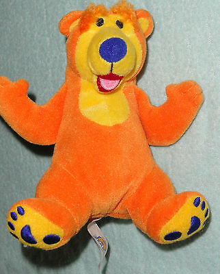 Bear In The Big Blue House Baby Rattle Stuffed Animal Plush Toy 5""