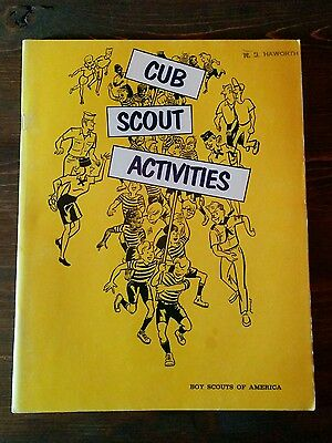 Cub Scout Activities - Vintage Boy Scouts of America 1971 Book Booklet