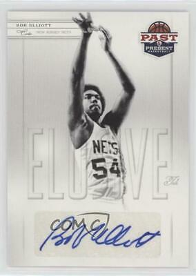 2011 Past & Present Elusive Ink #BE Bob Elliott New Jersey Nets Auto Rookie Card