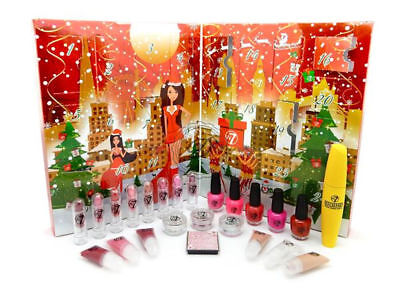 W7 Advent Calender 2017 - NEW Makeup Countdown To Christmas Beauty Cosmetics