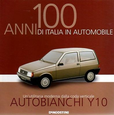 Booklet AUTOBIANCHI Y10 LANCIA rare 30 PAGES