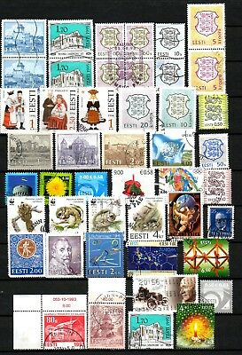 Estonia  Small Lot # 8 . Stamps - Used