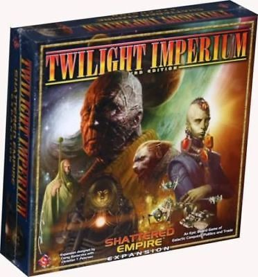 TWILIGHT IMPERIUM 3rd EDITION: SHATTERED EMPIRE von FFG shrinkwrapped