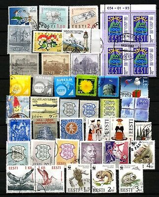 Estonia  Small Lot # 10 . Stamps - Used