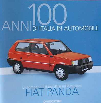 Booklet FIAT PANDA rare 30 PAGES