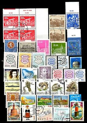 Estonia  Small Lot # 13 . Stamps - Used