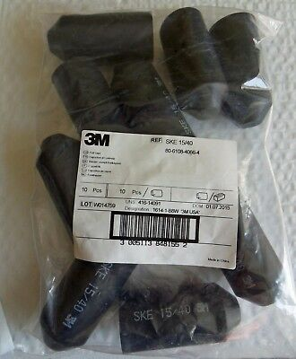 10 Pack New 3M™ SKE-15/40 Heat Shrink Heavy-Duty End Cap Free Shipping