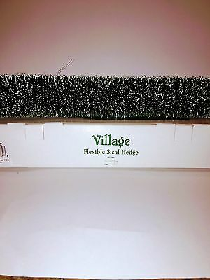 Department 56 - Village Flexible Sisal Hedge #56.52662- NOS Never used