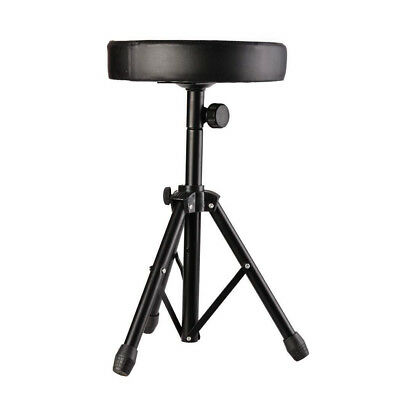 Professional Padded Drum Throne Seat Stool Stand Drumming Adjustable Cha A5P8