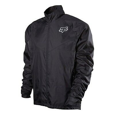 """Fox Racing Dawn Patrol Jacket Lightweight Packable Size Small 34"""" - 38"""" Chest"""