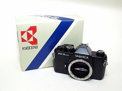 Yashica FX-3 Super Camera Body with Box + New Skin