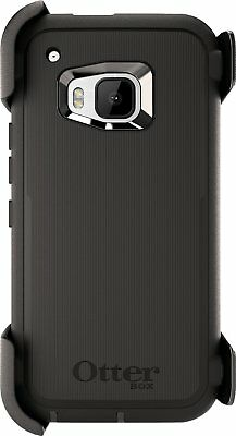 OEM Otterbox Defender Series Black Case For HTC One M9