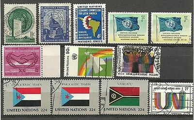 United Nations mint/used lot 1951-87