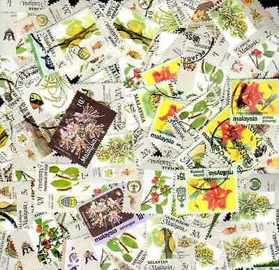 Malaisie - Malaysia 500 timbres différents