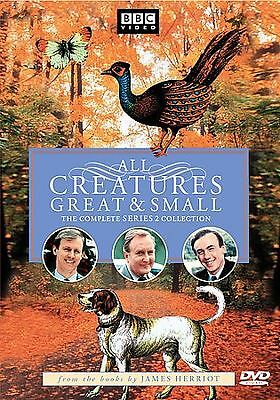 All Creatures Great and Small - Series Two Set (DVD, 2002, 4-Disc Set) USED VG