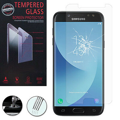1 Film Verre Trempe Protecteur Protection Samsung Galaxy J5 Pro (2017) J530Y/DS