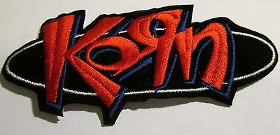 Korn Collectable Rare Vintage Patch Embroided 90's Metal Live