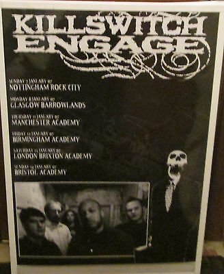 Killswitch Engage Poster  Rare New Poster 2007 Vintage