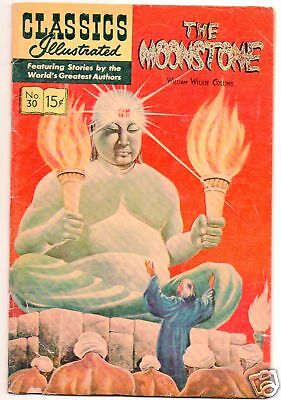 Classics Illustrated :: 30 :: The Moonstone