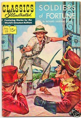 Classics Illustrated :: 119 :: Soldiers Of Fortune