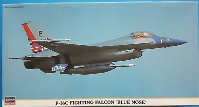 Hasegawa 1:48 F-16C Fighting Falcon 'Blue Nose' Kit No. 09379