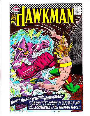 """Hawkman  No.15   : 1966 :   : """"The Scourge Of The Human Race!"""" :"""