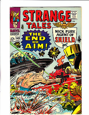 "Strange Tales  No.149    : 1966 :    : ""The End Of A.I,M,!"" :"