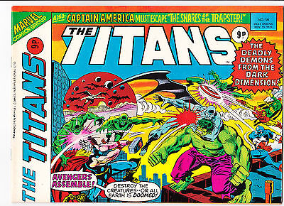 "The Titans No.56  : 1976 :   : ""Whatever Gods There Be!"" :"